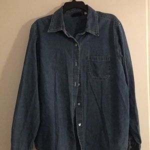 Gap Denim Shirt. Sz XL